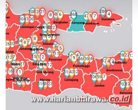 Bukan Hitam Status Surabaya Masuk Zona Merah Tua Harian Bhirawa Online