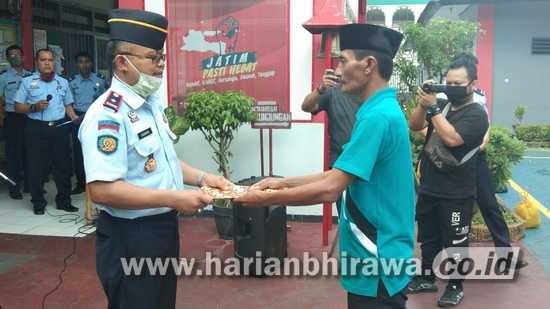 Lembaga Pemasyarakatan kelas IIB Nganjuk Bebaskan 94 Narapidana