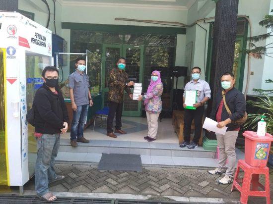 Pandemi Covid-19, PEPC Berikan Bantuan Tambahan Pemkab Bojonegoro 100 Rapid Test