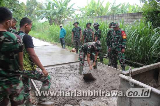 Letkol Inf Dwi Mawan: Pembangunan JUT Tingkatkan Produksi Pangan