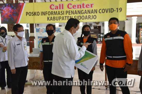 Relawan Covid-19 di Sidoarjo dapat Kartu BPJS Ketenagakerjaan Gratis