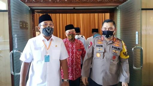 Irjen Fadil Sowan ke DPRD Jatim, Gayeng Saat Membahas Pandemi Covid-19