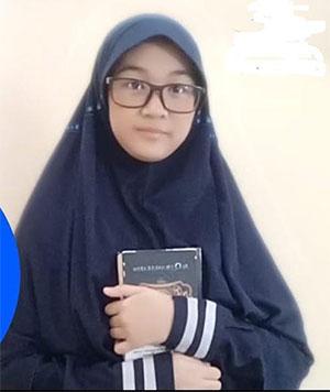 Selama PJJ Dua Siswi SMP IT Inka Berhasil Hafalkan Alquran 30 Juz