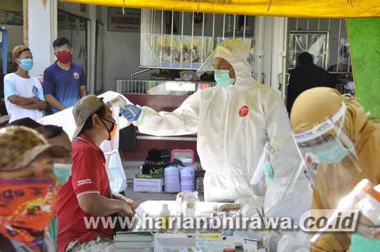 Kecamatan Palang Kabupaten Tuban Dukung Warga Ditest Rapid