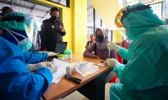 Pemkot Madiun Gelar Rapid Test Wartawan, Disaksikan Wali Kota
