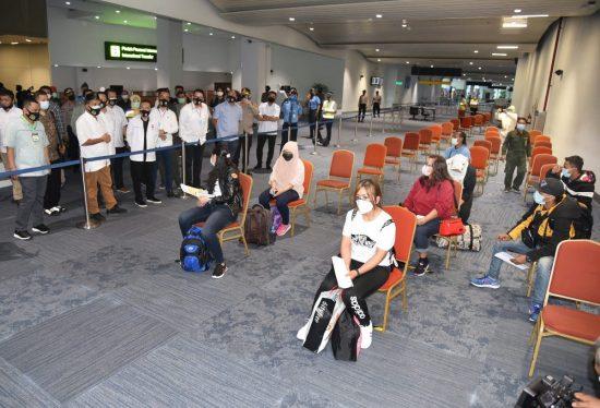 Protap Covid-19 Sudah TertibDilaksanakan di Bandara Soekarno Hatta