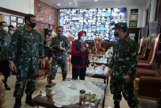Mabes TNI Siap Bantu Pemkot Surabaya Tangani Covid-19