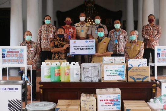 Pemkab Mojokerto Terima Ribuan Paket Sembako dan Ratusan APD dari Pelindo III