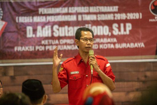 HUT Surabaya Ke-727, PDIP Gelorakan Semangat Perjuangan Hadapi Covid-19