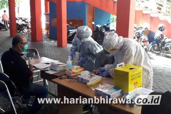 Atlet dan Pelatih KONI Kota Malang Jalani Rapid Test