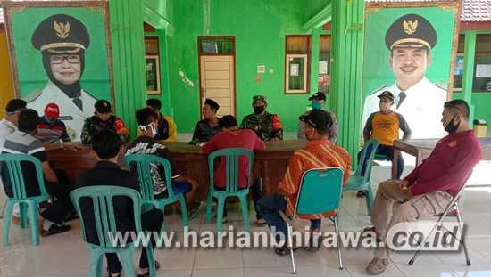 Babinsa Mojodanu Jombang Ikut Selesaikan Pertikaian Antar Pemuda