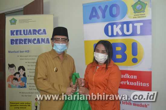 Wakil Bupati Sidoarjo Ajak Warga Ikut KB Terencana