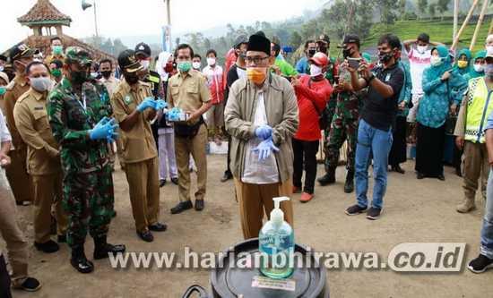 Wakil Bupati Probolinggo Launching Desa Tangguh Covid-19
