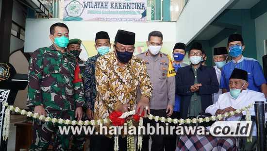 Hadapi Covid-19, Wali Kota Blitar Santoso Resmikan Pondok Pesantren Tangguh