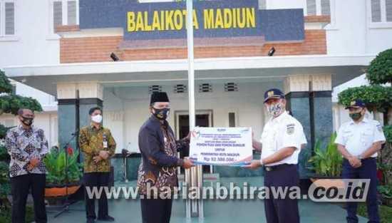 Pemerintah Kota Madiun Terima CSR dari PT KAI