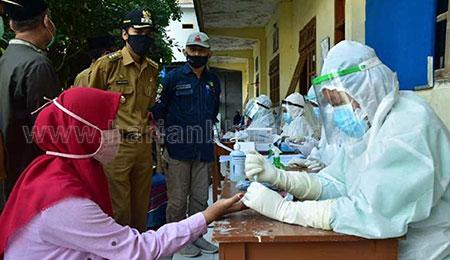 Santri Ponpes Mekar Agung Kembali ke Pondok, Wajib Rapid Test
