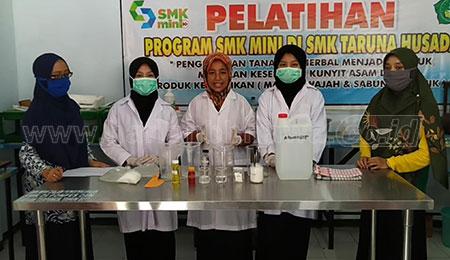 SMK Taruna Husada Terlibat Aktif Pada Pencegahan Covid-19