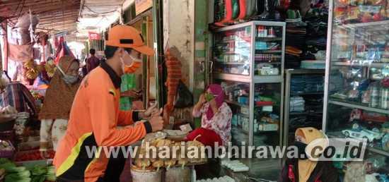 BPBD Bondowoso Sosialisasikan Pentingnya Pengunaan Masker