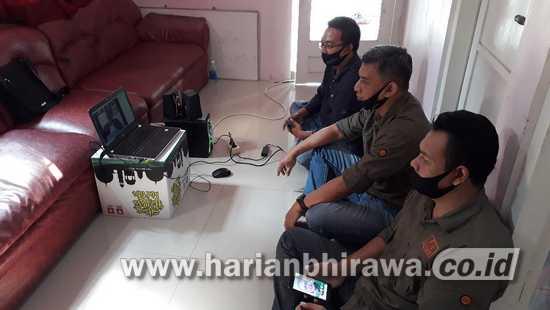 Halal Bi Halal Virtual PWI Jatim di Kabupaten Lamongan, Jaga Marwah Organisasi