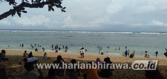 Pantai Balekambang Dibuka Terapkan Konsep Pantai Tangguh Covid 19 Harian Bhirawa Online