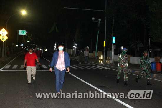 Hari Ini, Physical Distancing di Tiga Ruas Jalan Dilonggarkan di Pasuruan