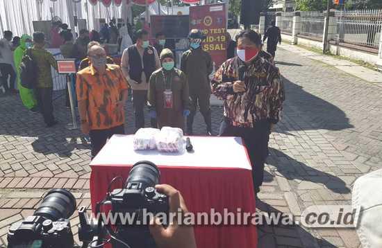 GM FKPPI Jatim Ucapkan Terima Kasih pada BIN Bantu Putus Covid-19 di Surabaya