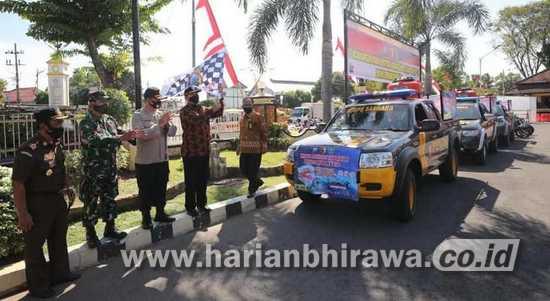 Wali Kota dan Forpimda Launching Mobil Tangguh Polres Madiun Kota