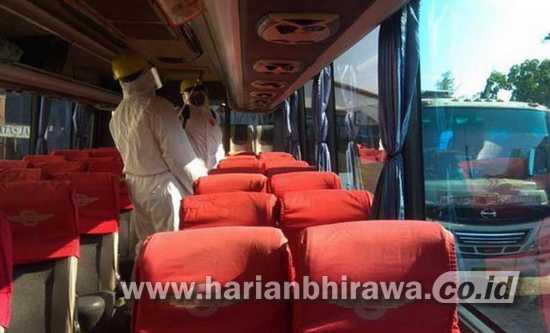 PO Bus Sterilisasi, Pemkot Probolinggo Diminta Fasilitasi Rapid Test