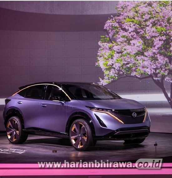 Nissan Arya Berdisain Sporty dan Berteknologi Listrik Segera Diluncurkan