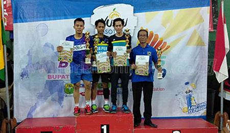 Mahasiswa UMM Menangi Kejuaraan Bulu Tangkis Tingkat Jawa Timur