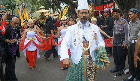 Larungan Telaga Ngebel, Kreasi Budaya Yang Lestari