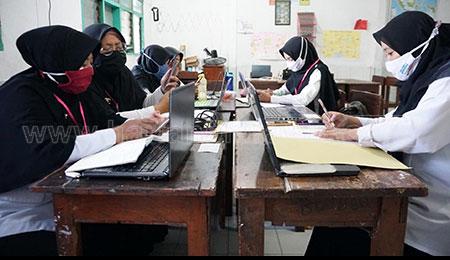 SMP PGRI 1 Buduran Beri Pencerahan Siswanya Tentang Bahaya Narkoba
