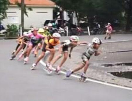 Atlet Sepatu Roda Butuh Tempat Latihan yang Aman
