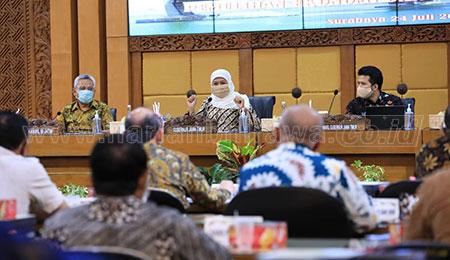 OPD Diminta Maksimalkan Energi Percepat Pemulihan Ekonomi Jatim
