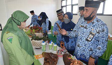 Wujudkan Jiwa Entrepreneur, SMKPP Tegal Ampel Sediakan Pusat Bisnis Produk Pertanian