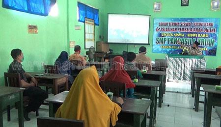 SMP Pancasila Beri Pelatihan Pembelajaran Pada Siswa Baru