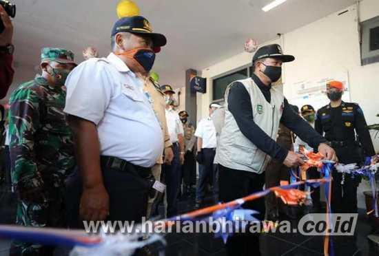 Wali Kota Madiun Resmikan Stasiun Tangguh Semeru
