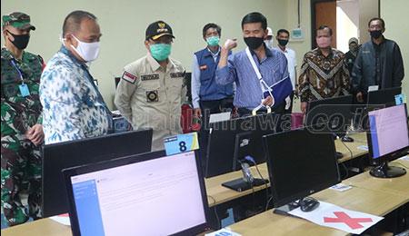 UTBK Dimasa Pandemi Sempat Diragukan, Akhirnya Dapat Pujian Wali Kota