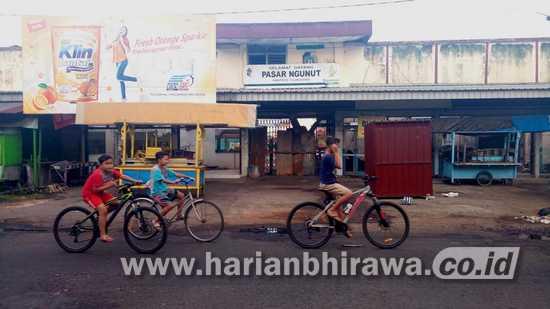 Imbas Covid-19, Pembangunan Pasar Ngunut Tulungagung Hanya Satu Blok
