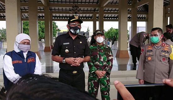 Kunjungi Pondok Gontor, Gubernur Jatim Imbau Gotong Royong Lawan Pandemi