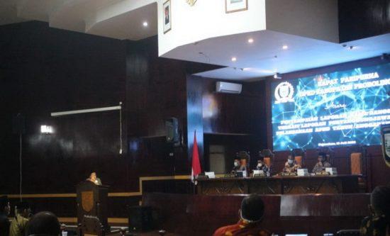 Banggar Sampaikan Tujuh Saran  Pembahasan LPj Pelaksanaan APBD 2019