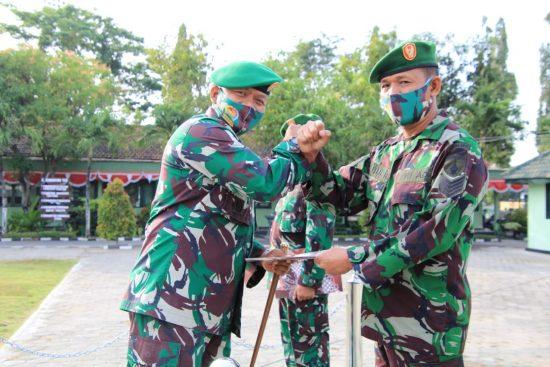 Dandim 0812 Lamongan Sambut Tiga Prajurit Kodim Jajaran