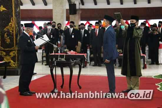 Pejabat Sekda Kabupaten Malang Resmi Dilantik Bupati HM Sanusi