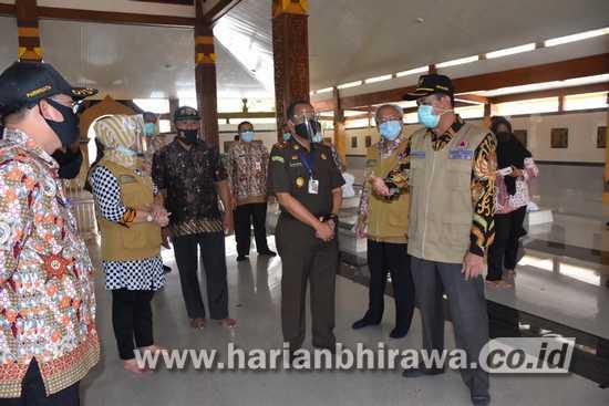 Bupati Mojokerto Resmian Pasar Tangguh Covid-19 Tanjungsari Dlanggu