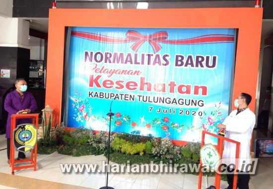dr Supriyanto: Layanan Kesehatan di Tulungagung Terapkan Normalitas Baru