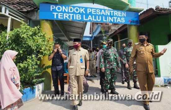 Wali Kota Madiun Apresiasi Pembangunan Menara Masjid Nurul Huda