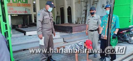Kecamatan Asemrowo Surabaya Bentuk Tim Penegak Disiplin Bermasker