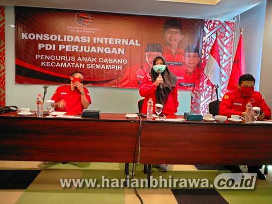 PDIP Kota Surabaya Rapatkan Barisan Jelang Turunnya Rekom