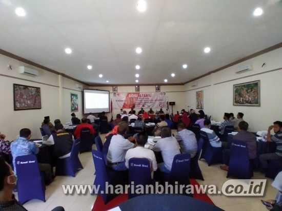 KPU Situbondo Gelar Sosialisasi Tahapan Pilkada