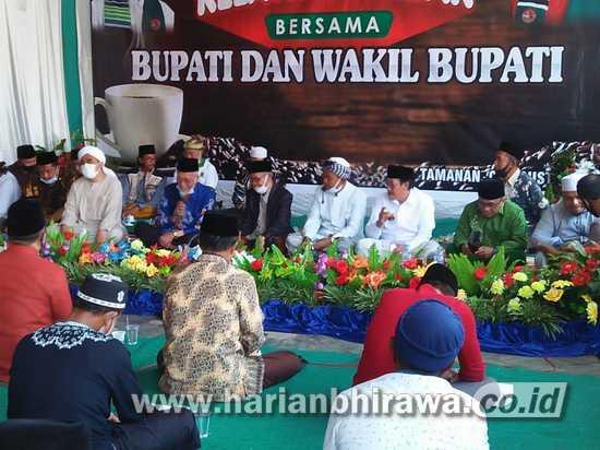 Bupati Salwa Arifin Temui Relawan Pendukungnya